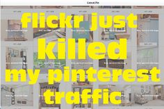 """""""Help! My flickr photos are no longer pinterest friendly. *UPDATED*"""" -- How to fix the problem"""