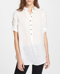 Adoring the timeless style of this Burberry shirt.