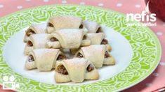 Elmalı Kurabiye Nasıl Yapılır? Cheesecake Bites, Fruit Salad, Cereal, Oatmeal, Pudding, Breakfast, Desserts, Recipes, Food