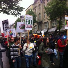 Dampfer Demo 5.Mai 2012 in Düsseldorf