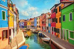 Burano, Venedigs kleine Schwester, Italien