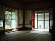 A ground floor guest room, Ebisu's Kyoto International Guesthouse