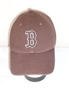 MLB BOSTON RED SOX RED B POLAND SPRINGS 2 TONE HAT NWOT