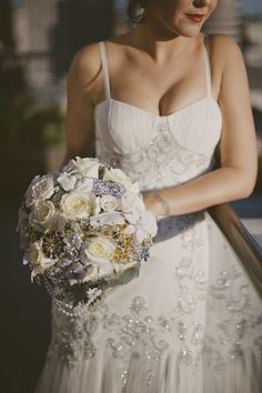 white and brooch bouquet | Photography by sarahmaren.com, Floral Design by flourishdesigns.com