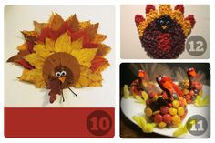 25 Preschool Thanksgiving crafts