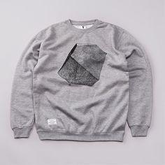 Ambivalent Rhombohedron Sweatshirt Grey
