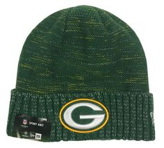 7923ad1d933 New Era Green Bay Packers Knit Beanie Cap Hat Official NFL 2017 Kickoff  11461156