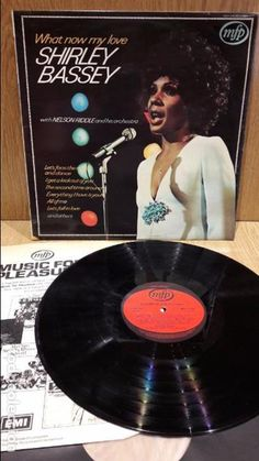 SHIRLEY BASSEY / NELSON RIDDLE & ORCHESTRA. WHAT NOW MY LOVE. LP / MFP-1962 / MBC. ***/***