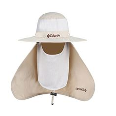 4c3cde145e4 Amazon.com   Obazidou Quick Drying Outdoor Sun Protection Detachable Cap  Neck Face Flap Hat Wide Brim Army   Sports   Outdoors