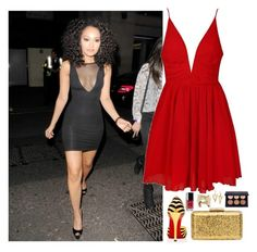 """""""Leigh Anne Pinnock, LM #1"""" by ambere3love34 ❤ liked on Polyvore featuring American Apparel, Ally Fashion, Christian Louboutin, KOTUR and Chanel"""