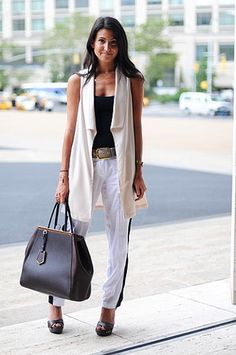 Street Style 2013: Black & White // Photo by Anthea Simms