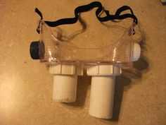 DIY Ecto goggles from Ghostbusters