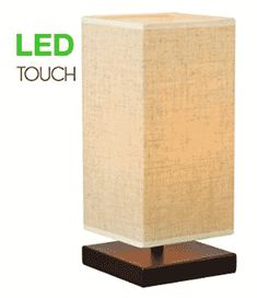 Despite having been around for decades, touch lamps are still highly sought after even in the modern home. Bedside Table Lamps, Bedroom Lamps, Touch Lamp, Home Improvement, Bulb, Led, Coloring Books, Modern, Floral