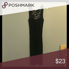 Dress Donna Mizani black lace dress. Although it does not look like it, this dress is all lace with black underneath. Donna Mizani Dresses