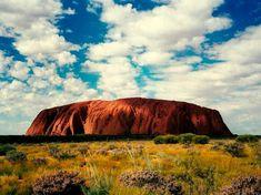 Amanecer en Uluru, Australia