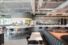 Alain Ducasse's Champeaux brasserie by ciguë, Paris – France » Retail Design…