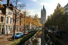 Oude Delft met Oude Jan