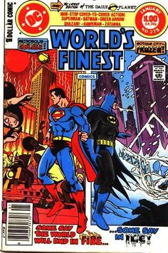 DC Comics - World's Finest, No.275 - Superman and Batman.