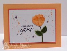 Stampin'Up! Bunch of Blossoms birthday card
