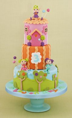 Lalaloopsy Cake - Loved designing this one!