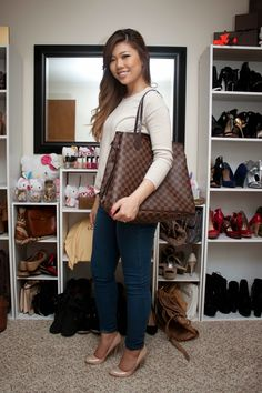 Cindy's Blog: Louis Vuitton Neverfull GM (with lots of mod pics)