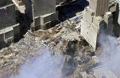 Straight vertical holes that cut down through WTC6.