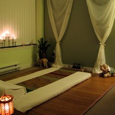 Space for Thai Massage, Yoga or Meditation.
