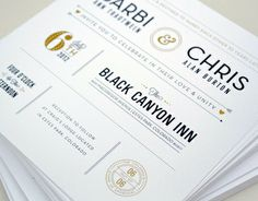 B&C Wedding Invites