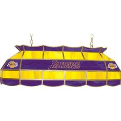 Los Angeles Lakers Tiffany Lamp