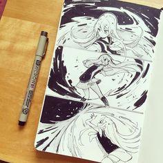 I draw Lupine so rarely #inktober