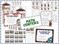 the polar express - math centers