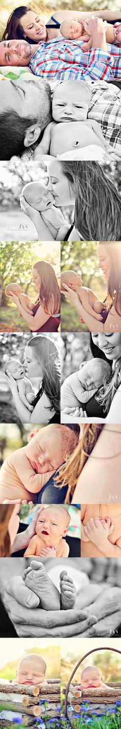LOVE that these are outside. I've never done a newborn family session outdoors.. i hope to soon!