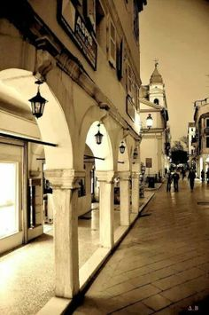 * Corfu...old town...Greece..