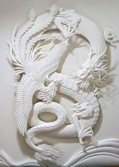 With simple pieces of paper, this ingenious artist gives life to impressive creations | Daily Geek Show
