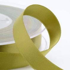Moss green satin ribbon - 3mm, 6mm, 10mm and 16mm widths.