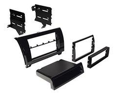 Best Kit BKTOYK967GB Double DIN Installation Dash Kit for 2007-2013 Toyota Tundra/Sequoia Vehicles (Gloss black)