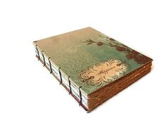 Large Heirloom Guest Book with Coptic Binding by Thenibandquill, $125.00