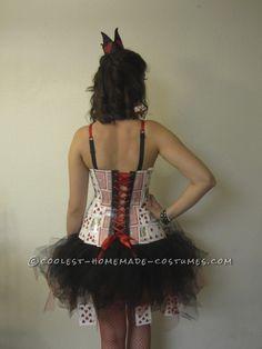 Coolest Homemade Queen of Hearts Costume...