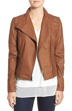 Free shipping and returns on Marc New York by Andrew Marc 'Felix' Stand Collar Leather Jacket at Nordstrom.com. A cleanly styled leather jacket is a wear-anywhere piece. Moto-inspired design lends subtle edge, while knit side and sleeve panels bring enhanced fit and mobility.
