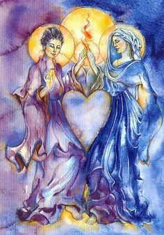 Kuan Yin and Mary
