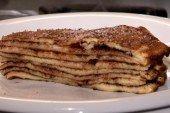 Csúsztatott palacsinta Naan, Pancakes, Tv, Breakfast, Food, Morning Coffee, Television Set, Essen, Pancake