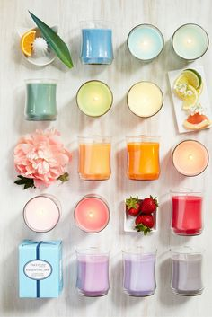 From floral to fruity, nine new fragrances are coming your way - order @ www.partylite.biz/cheryljackson