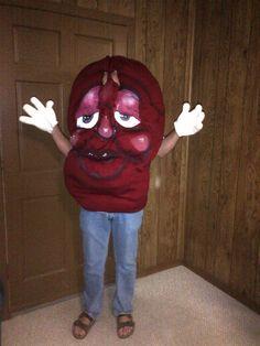 california raisin costumes 1 of 4october price reduction 9000 - California Raisin Halloween Costume