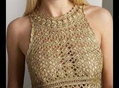 Resultado de imagen para chaleco deportivo tejido crochet para mujer