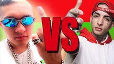 Batalha de Rap,MC Bin Laden VS MC Guime,(Galo frito)