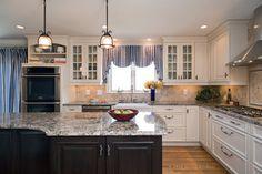Black & White - traditional - kitchen - boston - Divine Kitchens LLC