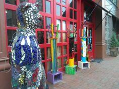 k-12 Dayton Art Gallery Downtown Dayton Ohio #daytonforfamilies #familyfun