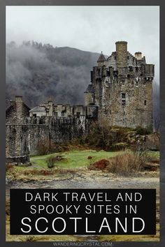 Places to visit with a dark history in Scotland, Creepy places to visit in Scotland, abandoned places in Scotland, Dark History in Scotland, Scottish History, haunted castles in Scotland, Edinburgh Scotland haunted, spooky places in Scotland, Outlander locations, haunted places in Glasgow, Edinburgh Vaults, Glasgow Necropolis, Scottish Highlands, Things to do in Scotland, Scottish ghosts, Culloden Battlefield, #scotland #wanderingcrystal #schottland #escocia #edinburgh #glasgow #culloden Scotland Vacation, Scotland Road Trip, Places In Scotland, Scotland Travel, Scotland Top, Scotland History, Glasgow Scotland, Stirling Castle Scotland, Inverness Scotland