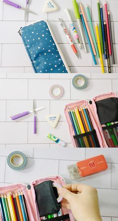 Organize your cutest stationery in an equally cute pouch like the Freewill Slim Multi Pouch! This fully zippered pouch has pockets and plenty of space to hold your must-have pens, craft supplies, makeup, and more!