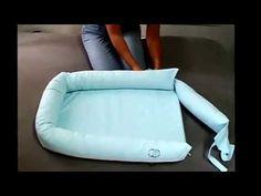 Como fazer um bercinho Ninho para bebê PARTE 02 - YouTube
